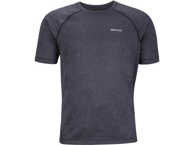 Marmot Accelerate SS Shirt Herre black heather